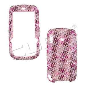 Handmade Bling Crystal Diamond Stone Pink Protective Cover Case