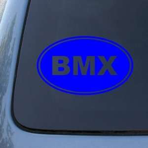 BMX EURO OVAL   Bike   Vinyl Car Decal Sticker #1688  Vinyl Color