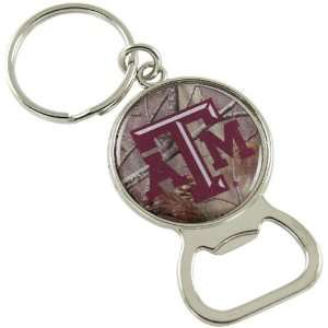 Texas A&M Aggies Real Tree Camo Bottle Opener Keychain