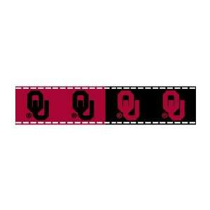 5/8 Grosgrain Ribbon University Of Oklahoma 3 Yd Roll By