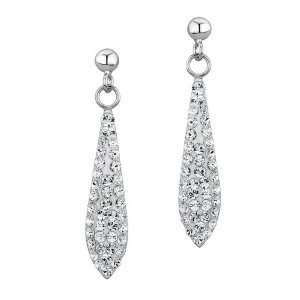 Swarovski Crystal Elements Drop Earrings Jewelry