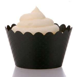 Cupcake Liners & Black Cupcake Decorations for Stands, Towers & Trees