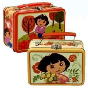 Dora the Explorer Tin Lunch Box Bag (Desings May Vary