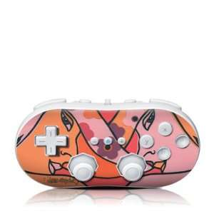 Retro Hats Design Skin Decal Sticker for the Wii Classic