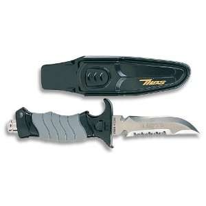 New 420 Stainless Steel Scuba Diving Knife   Pointed Tip