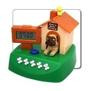 Mans Best Friend DOG House Novelty Barking Alarm Clock