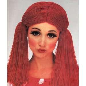 Rag Doll Girl Wig / Raggedy Ann Wig Toys & Games