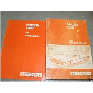 and the electrical wiring diagrams manual) mazda corporation Books
