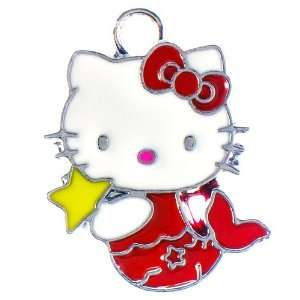 12X DIY Jewelry Making Mermaid Hello Kitty enamel charm