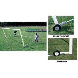 Universal Soccer Goal Tip And Roll Wheel Kit SET OF 4