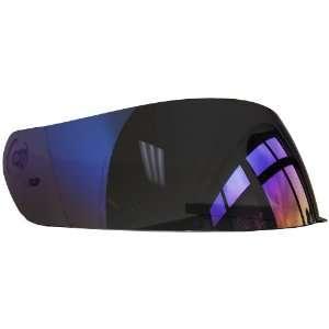 Vega Blue Mirror Full Face Shield Automotive