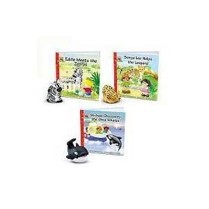 Fisher Price Little People Zoo Talkers Book & Figure   Set of 3   Orca