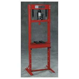 ) 12 Ton Bottle Jack Style Hydraulic Floor Press