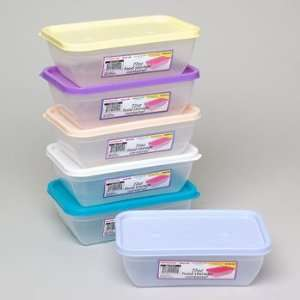 Plastic Food Storage Container Case Pack 48