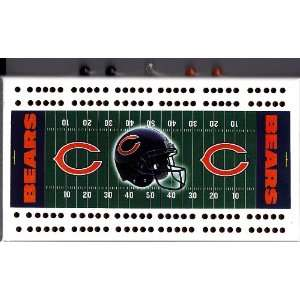 Chicago Bears NFL Football Field Cribbage Game Sports