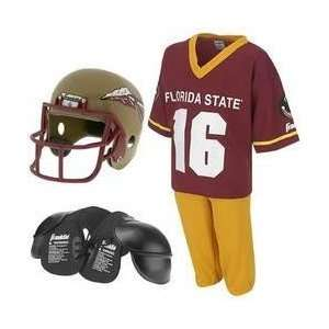 Florida State Seminoles Youth NCAA Team Helmet and Uniform Set (Small)