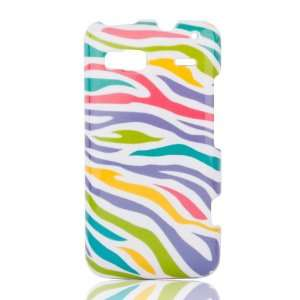 Shell for HTC T Mobile G2 Vanguard/Vision/Desire Z (Rainbow Zebra