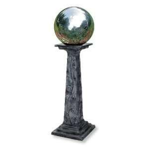 Gazing Globe Vine Pedestal Base Patio, Lawn & Garden