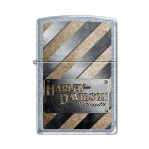 Zippo Harley Davidson Motorcycles Logo Street Chrome Lighter, 8524
