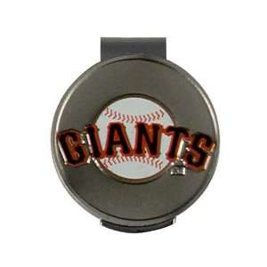 San Francisco Giants MLB Hat Clip and Ball Marker Sports