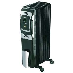 HZ 709 7 Fin Oil Filled Radiator Heater with Digital Controls
