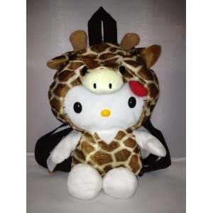 Hello Kitty Plush Giraffe Backpack Toys & Games