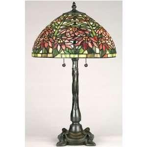 Secret Garden Table Lamp 20hx12d Vintage Bronze