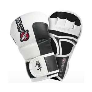 Hayabusa Tokushu 7OZ MMA Hybrid Gloves: Sports & Outdoors