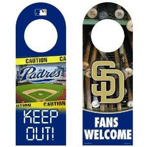 MLB San Diego Padres Wood Door Hanger