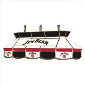 Jim Beam Stained Glass Pool Table Light