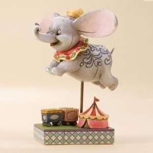 Jim Shore Disney Traditions Dumbo Faith in Flight