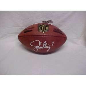 John Elway Hand Signed Autographed Denver Broncos Official