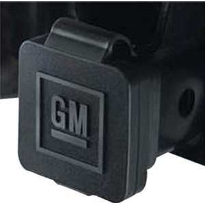 GM # 12496641 Hitch Receiver Cover with GM Logo