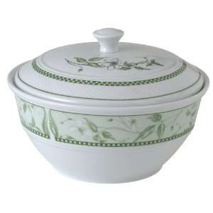 Royal Worcester Caf? Fleur 8 cup Round Deep Casserole and