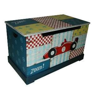 KINDERGARDEN RACE CAR TOY CHEST