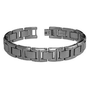 Stainless Steel Mens Bracelet 8.25 Inches West Coast
