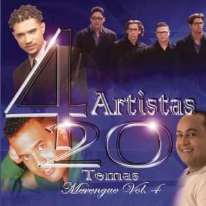 4 Artistas 20 Temas Merengue, Vol. 4 Various Artists Music