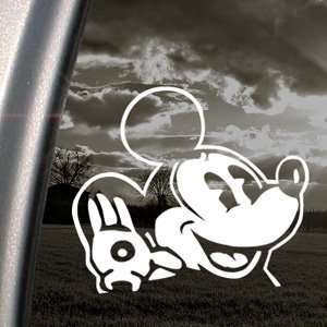 OLD DISNEY MICKEY MOUSE Decal Truck Window Sticker