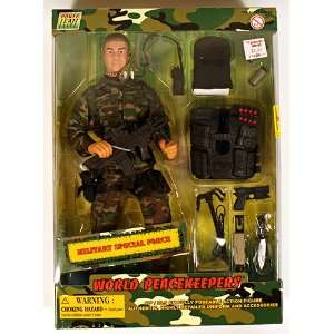 World Peacekeepers Military Special Force 12 Figure: Toys & Games