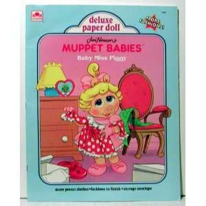 Muppe Babies  Baby Miss Piggy (Deluxe Paper Doll book
