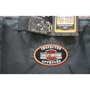 Harley Davidson Motor Oil Fleece Biker Throw  Kitchen