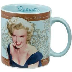 Marilyn Monroe Blue Lace Mug