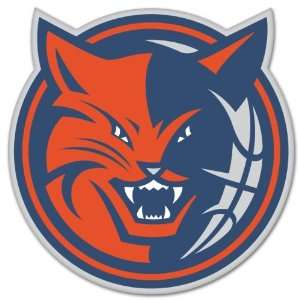 Charlotte Bobcats NBA Basketball car sticker 4 x 4