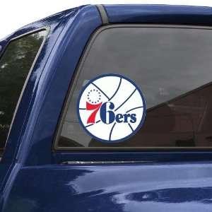 NBA Philadelphia 76ers 8 Color Team Logo Car Decal