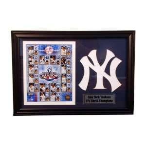 2009 New York Yankees World Series Champions 12x18 Logo