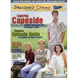 Dawsons Creek Official Magazine Yearbook Spring 2000