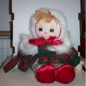 Sweet Christmas Kid Doll Girl Plush Toys & Games