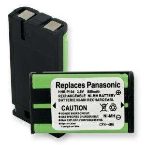 PANASONIC Part Model HHR P104 , CS90499 , TL26411 , 12423885 , Type 29