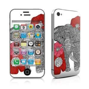 The Elephant Design Protective Skin Decal Sticker for