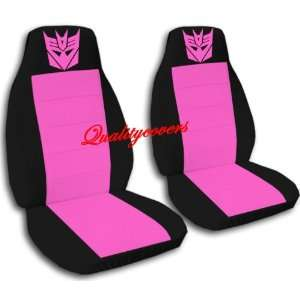 hot pink Robot seat covers for a 1998 2001 Ford Ranger. 60/40 seat